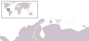 Klein Curaçao - Image: Klein Curaçao Location