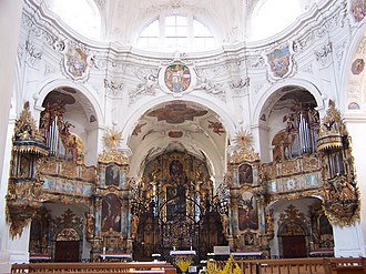 Muri - Muri Abbey from the inside
