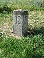 Kněževes (PZ), Na Staré silnici, kilometrovník 12.jpg