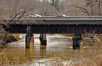 U.S. Route 64 in North Carolina - Knightdale Bypass (I-87/US 64/US 264) bridge over the Neuse River