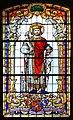 Kościół Opatrzności Bożej w Jaworzu (witraż 1).JPG