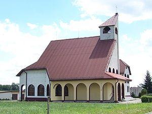 Lisowice, Silesian Voivodeship - Church at Lisowice.