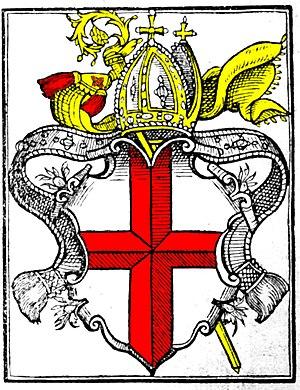 Helvetic Republic - Image: Konstanz Bischofswappen