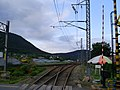 Korail Changwon station railroad Jinhae line 001.jpg