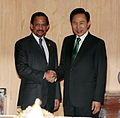 Korea-Brunei summit. June 01, 2009. (4344732675).jpg