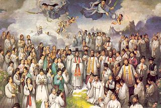 Korean Martyrs group of humans