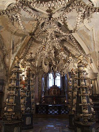 Sedlec Ossuary - Chapel Interior