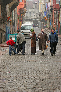 Κουλουρτζής στην Κωνσταντινούπολη