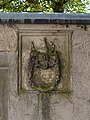 Kronach - Melchior-Otto-Platz - Wappen Pfarrhofmauer - 2014-08.jpg