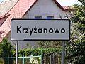 Krzyzanowo stary znak.jpg