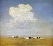 Kuindzhi Noon Herd in the steppe 1890 1895.jpg