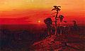 Kuindzhi Sunset over the Pine Forest 1898 1908.jpg