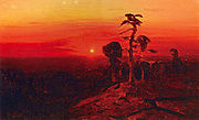 Kuindzhi Sunset over the Pine Forest 1898 1908.jpg