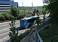 Kukulova, Nemocnice Motol, autobus C20 zezadu.jpg