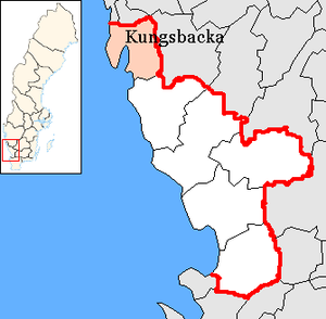 Kungsbacka Municipality - Image: Kungsbacka Municipality in Halland County