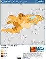 Kyrgz Republic Population Density, 2000 (5457014921).jpg
