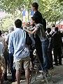 L'escabeau au défilé du 14 juillet 2006.JPG