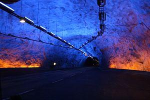 Lærdal Tunnel - Image: Lærdalstunnel