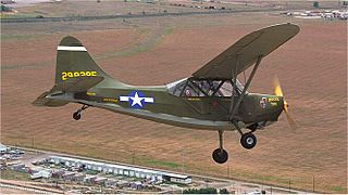 Stinson L-5 Sentinel military aircraft