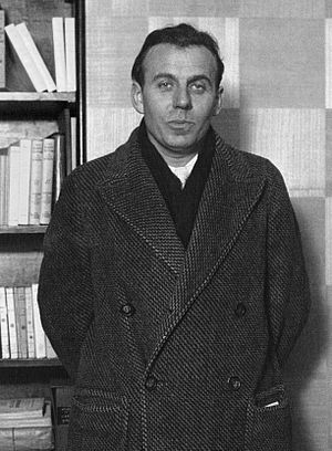 Louis-Ferdinand Céline - Louis-Ferdinand Céline on winning the Prix Renaudot for his novel Journey to the End of the Night in 1932