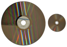old disc movie player