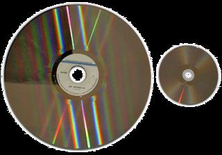 LaserDisc Optical analog video disc format