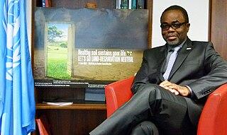 Luc Gnacadja Beninese politician