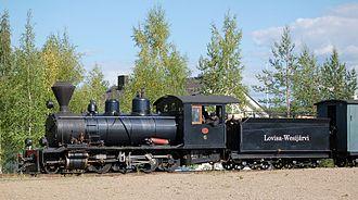 Jokioinen Museum Railway - Image: LWR6 2 8 0 steam locomotive