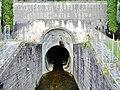 La Galleria Adige-Garda è un tunnel scolmatore che permette di mettere in comunicazione il fiume Adige con il lago di Garda - panoramio.jpg