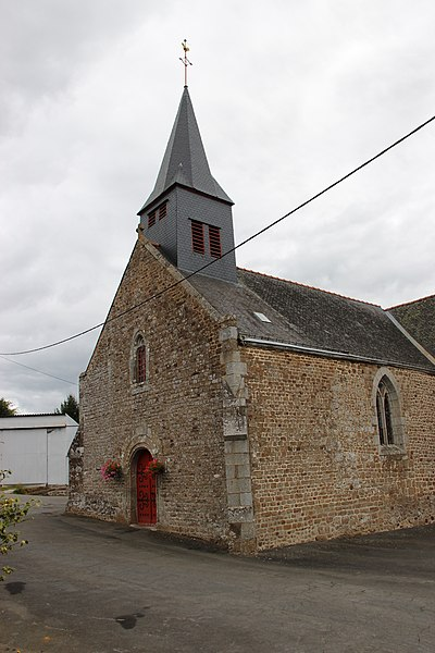 Église de La Pellerine.