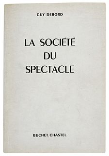 <i>The Society of the Spectacle</i> book by Guy Debord