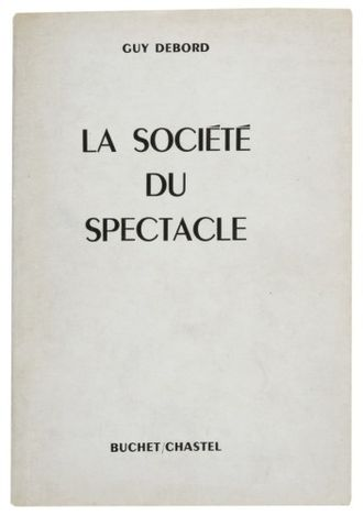 The Society of the Spectacle - Cover of the first edition