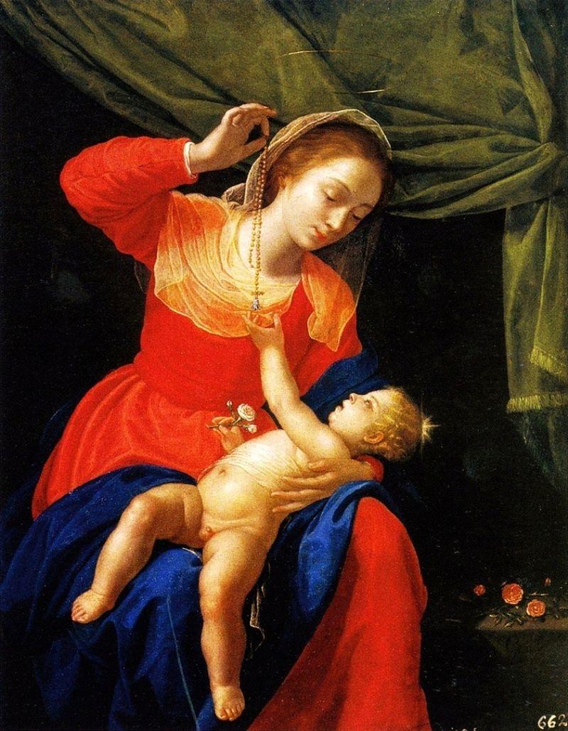 La Vergine e il Bambino con il rosario Artemisia.jpg