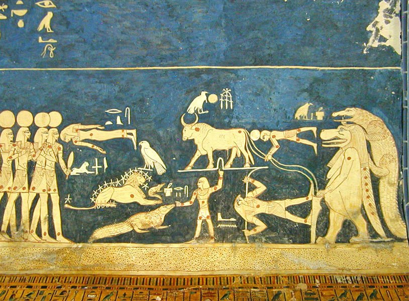 La tombe de Sethi 1er (KV.17) (Vallée des Rois, Thèbes ouest) -5