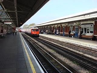 Ladbroke Grove tube station London Underground station