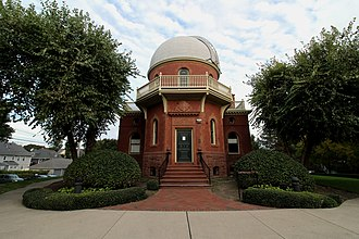 Ladd Observatory - Image: Ladd Observatory front