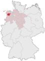 Lage des Landkreises Leer in Deutschland.png