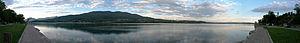 Lake Varese - Image: Lago di varese pano