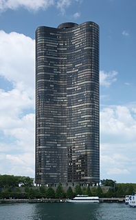 High-rise residential building in Chicago, Illinois