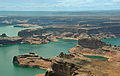 Lake Powell seen from plane.jpg