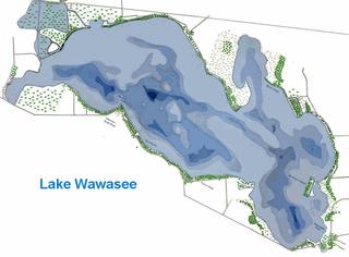 Lake Wawasee history large,  freshwater lake in Indiana, United States