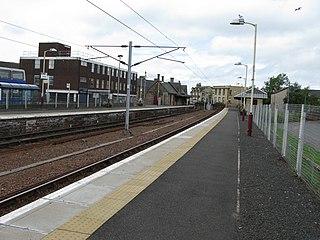 Lanark railway station