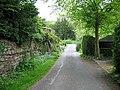 Lane running parallel to Wensley Beck - geograph.org.uk - 806518.jpg