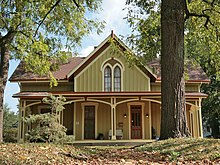Carpenter Gothic   WikipediaLangdon House  Cincinnati  Ohio  an example of Steamboat Gothic