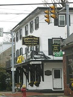 Langhorne, Pennsylvania Borough in Pennsylvania, United States