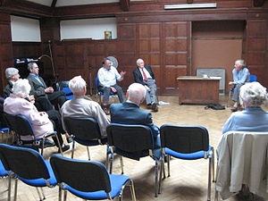 Christian left - A meeting of the Oxford Branch of the Christian Socialist Movement, with Larry Sanders speaking, October 2007
