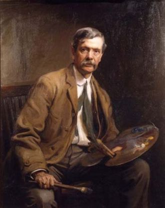 Alfred East - Sir Alfred East, by Philip de Laszlo, 1907