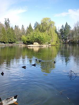 Laurelhurst Park - Image: Laurelhurst Park