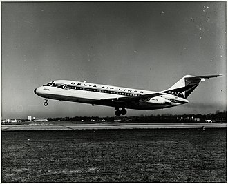 McDonnell Douglas DC-9 - The DC-9 entered service with Delta Air Lines on December 8, 1965