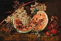 Leopold Zinnögger - Still Life with Watermelon and Grapes.jpg